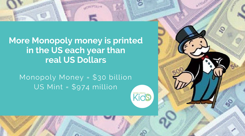Monopoly Money #Funfact