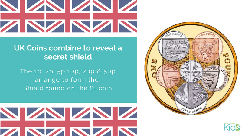 UK Coin shield