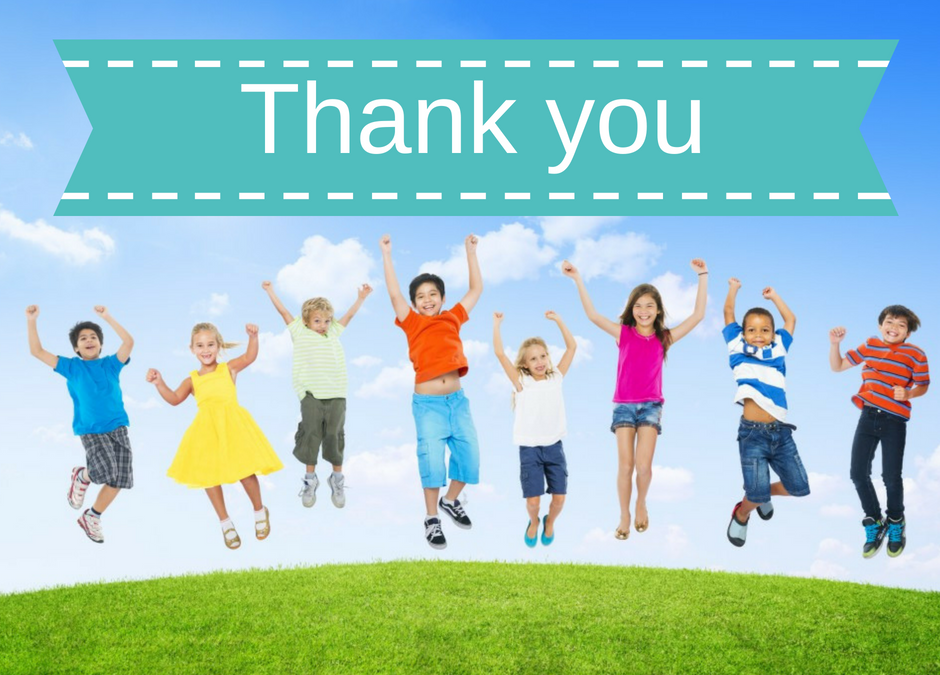 An Attitude of Gratitude – One of the most important gifts you can give a child