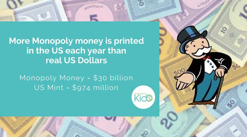 Monopoly Money #Funfact