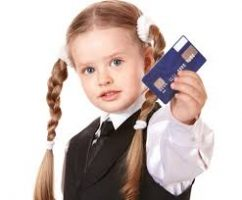 Kids, Money Cards and Invisible Money